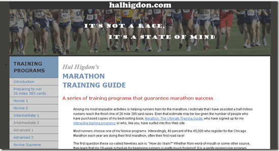 image thumb6 Marathon Training Plans