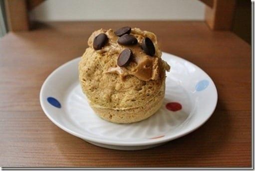 protien cake in a mug