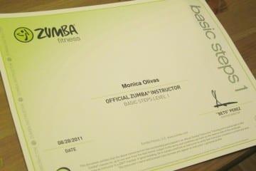 Zumba Certification