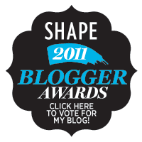 SHAPE magazine Blogger Awards Press