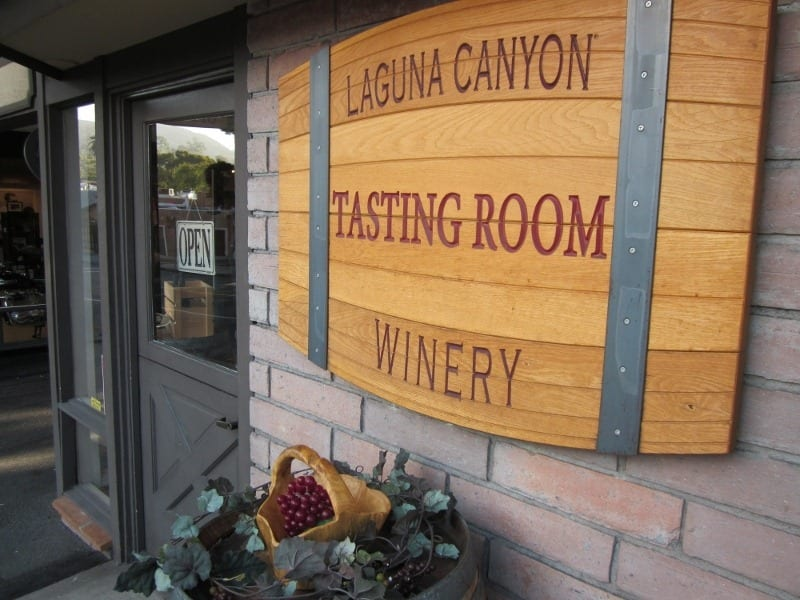 Beach Laguna Canyon Winery