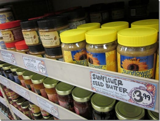 tjs sunflower seed butter