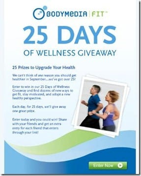 body media giveaway