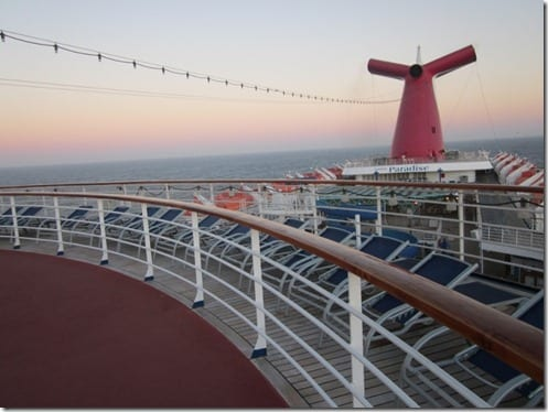 Cruise top view