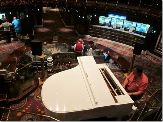 piano on cruise ship