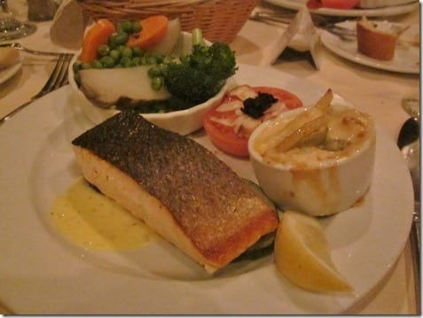 salmon on carnival cruise