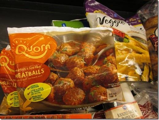 quorn meatballs