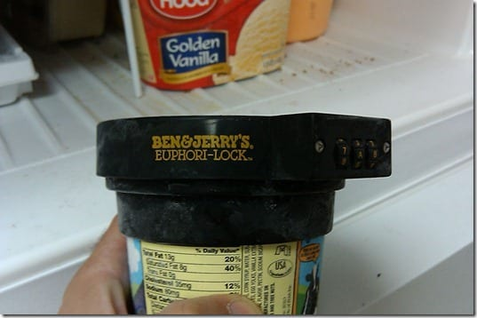 ben and jerry's lock
