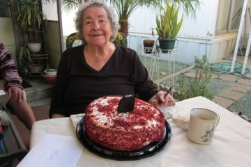 Happy Birthday to my Grandma!
