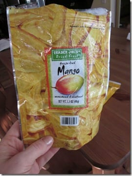 freese dried mango