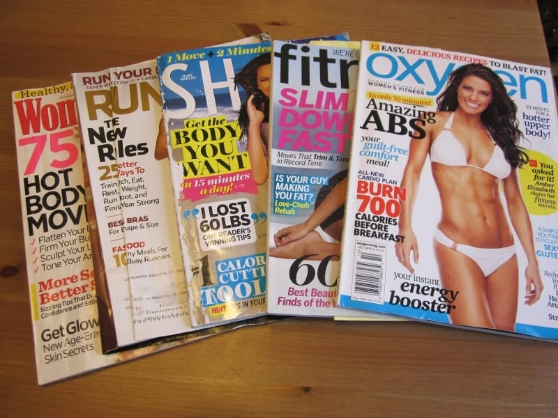 Foreign and Funny Magazines