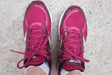 Mizuno Wave Rider Pink Running Shoes