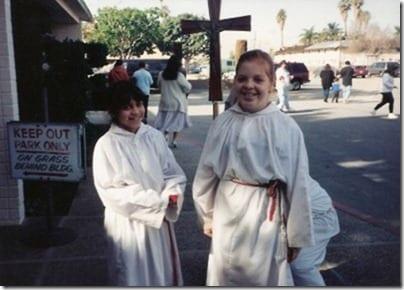 altar girl monica