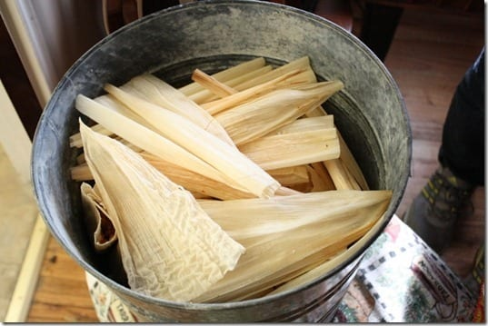pan with tamales