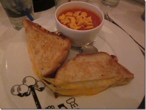 triplle decker grilled cheese
