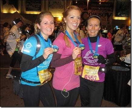 anne p monica and meghann thumb Rock N Roll Las Vegas Half Marathon '11