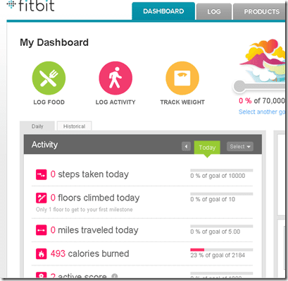 image thumb17 Weight Loss Wed–Fitbit Ultra Review