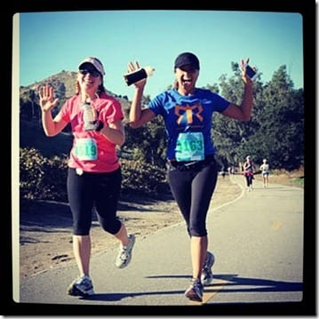 monica and bobbi running