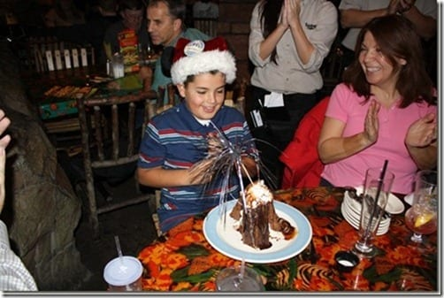 volcano cake rainforest cafe thumb Walking Wednesday and Matt's Birthday!