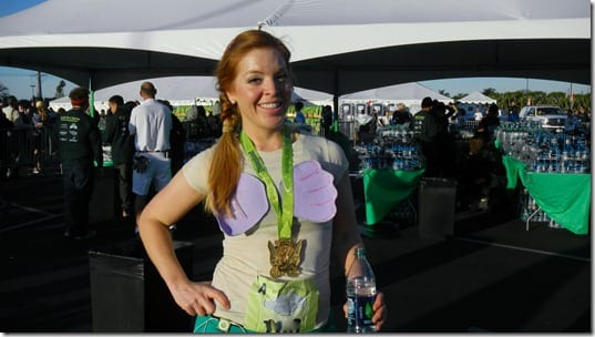 ariel after tinkerbell half marathon