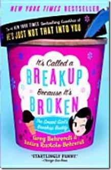 it's called a break up