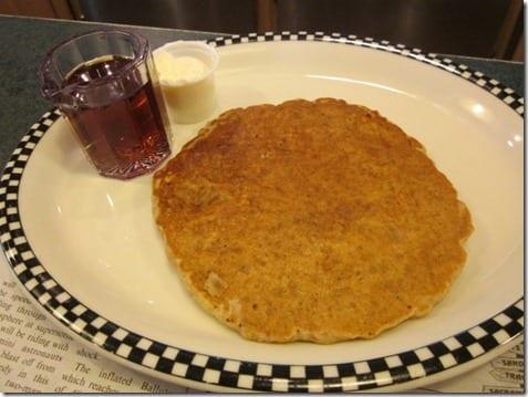granola pancake