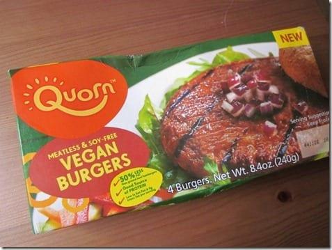 quorn vegan burgers