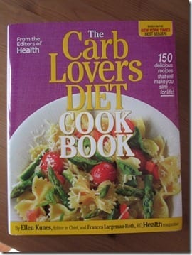 IMG 6728 800x600 thumb Weight Loss Wednesday–Carb Lovers Diet Cookbook
