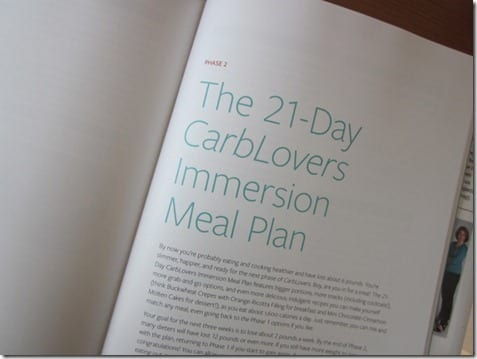 IMG 6742 800x600 thumb Weight Loss Wednesday–Carb Lovers Diet Cookbook