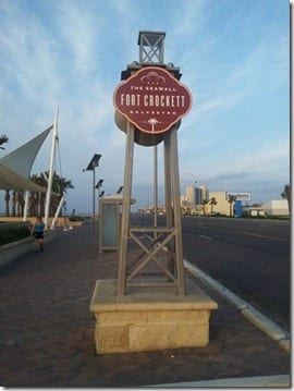 fort crockett sign