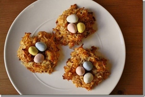 easter coconut birds nests thumb Easter Dessert Recipes