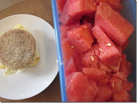 watermelon breakfast