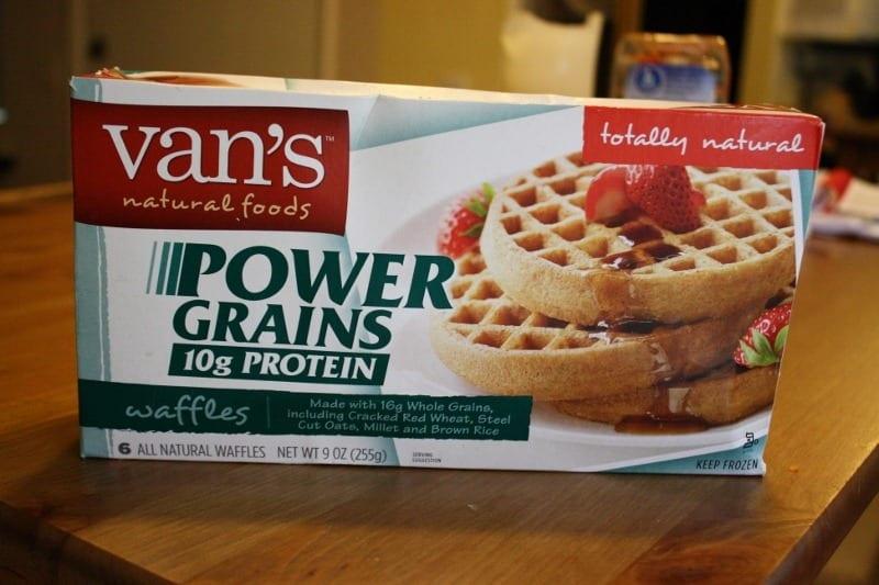 Van's Power Grains Waffles - Run Eat Repeat