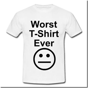 worst shirt