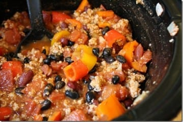 Crockpot Turkey Chili Recipe