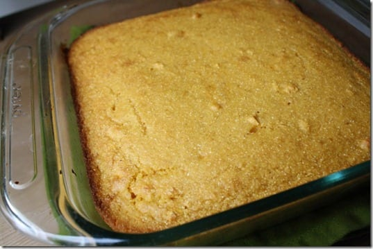 IMG 0465 800x533 thumb Cornbread with Pumpkin