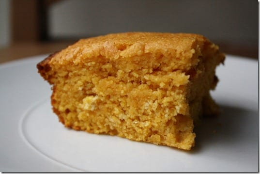 IMG 0473 800x533 thumb Cornbread with Pumpkin