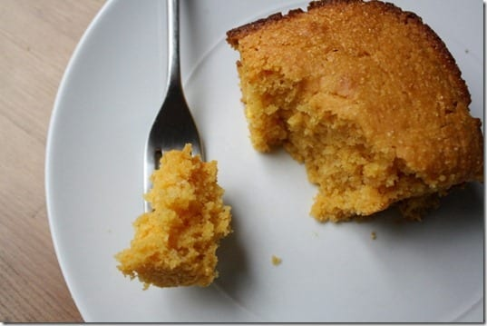 IMG 0481 800x533 thumb Cornbread with Pumpkin