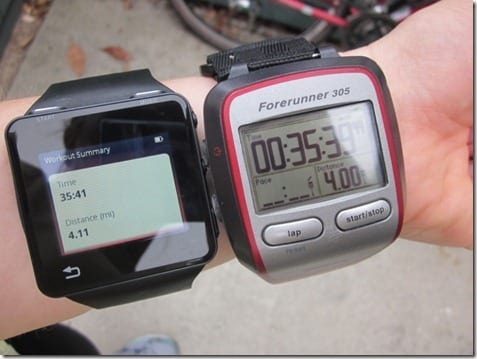 motoactv and garmin