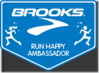 Brooks Blog Ambassador Badge