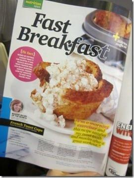 fast breakfast magazine