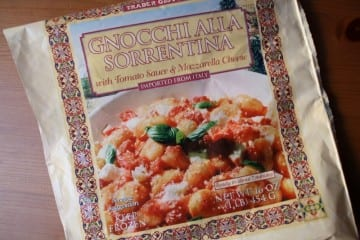Trader Joes Tuesday–Gnocchi Sorrentina