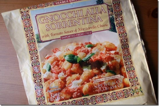 IMG 4865 800x533 thumb Trader Joes Tuesday–Gnocchi Sorrentina