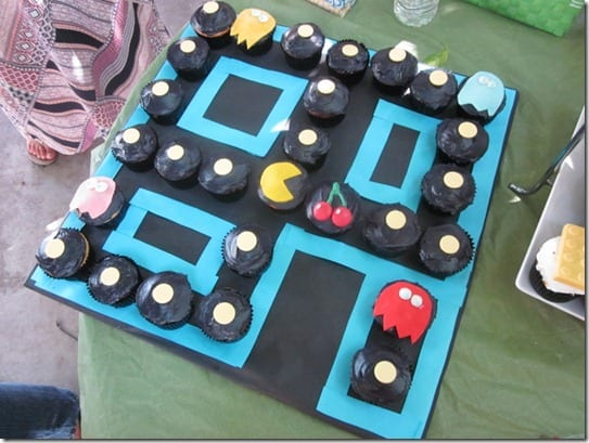 IMG 4886 800x600 thumb Adult Punch and Pac Man Cupcakes