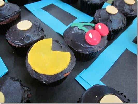 IMG 4912 800x600 thumb Adult Punch and Pac Man Cupcakes
