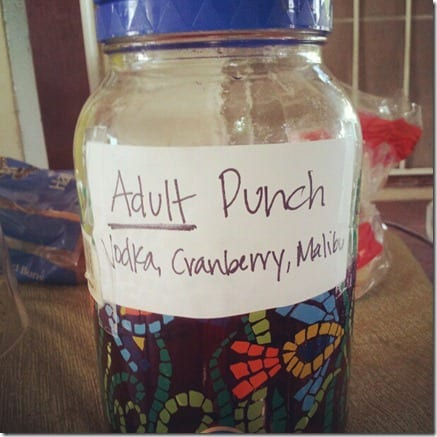 adult punch