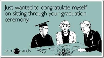 go me for the graduation