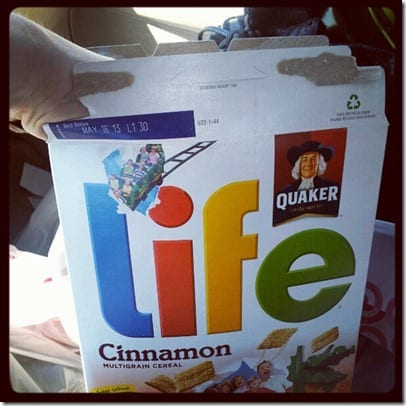 life cereal thumb Back to Orange