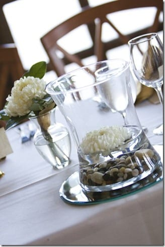 simple wedding centerpiece thumb Married 3 Years…