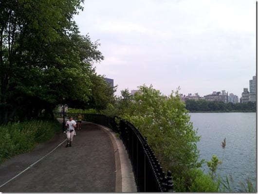 the path thumb Rosa Mexicano and Central Park Run